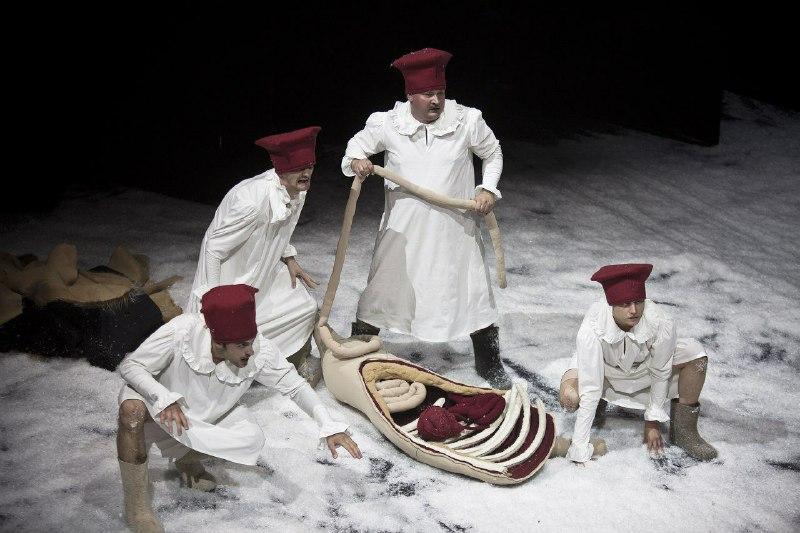 Cпектакль «Шляхціц Завальня» Купаловский театр