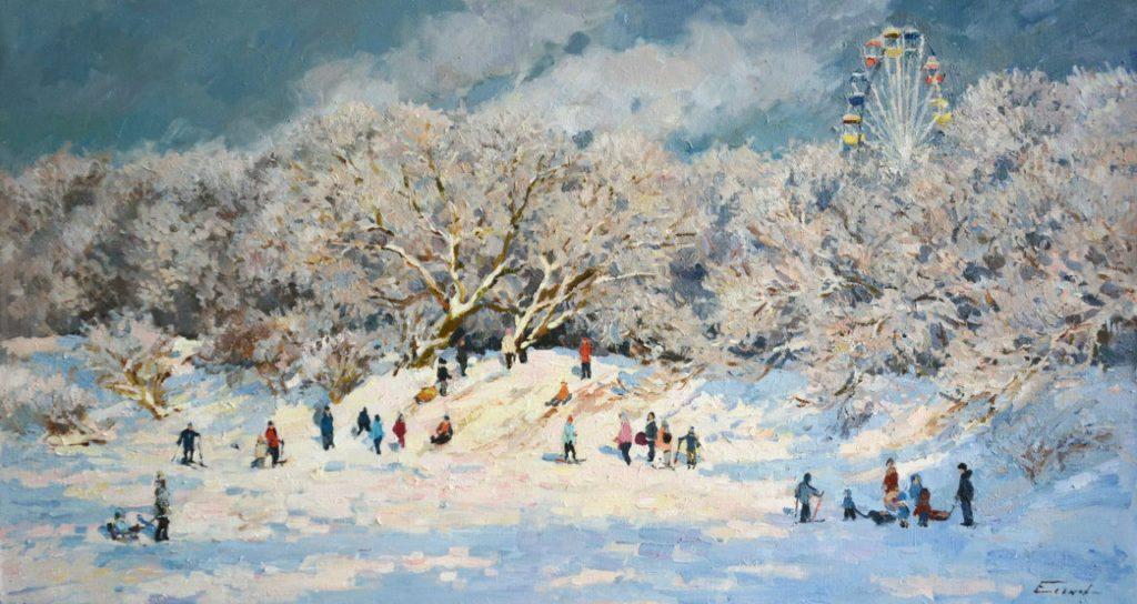 Картины Павла Еськова
