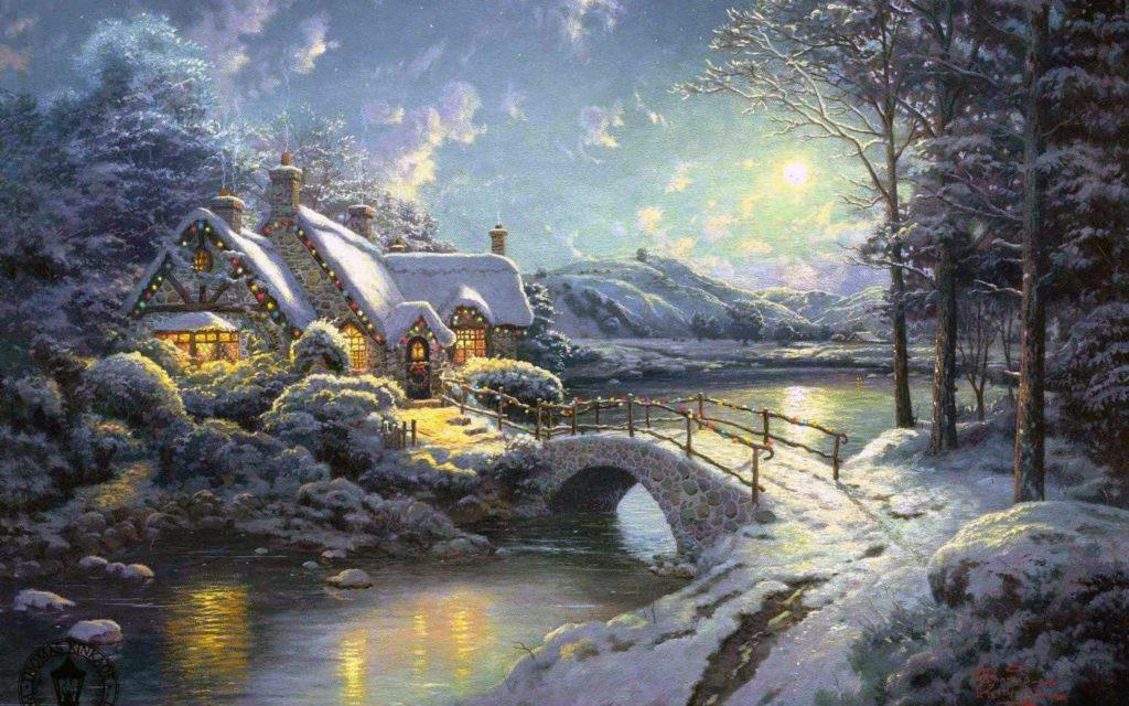 Картина Томас Кникейд (Thomas Kinkade), США