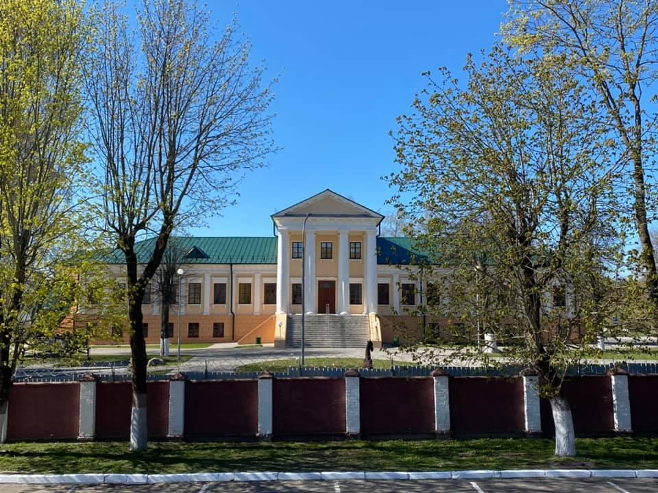 Палац Тышкевічаў. Валожын.